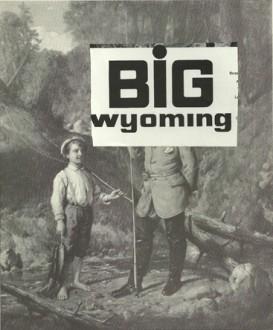 """""""Big Wyoming,"""" collage, 2015"""