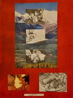 """Baked Alaska,"" Mixed Media, 2012"