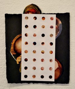 """Untitled,"" Mixed media, 2013"
