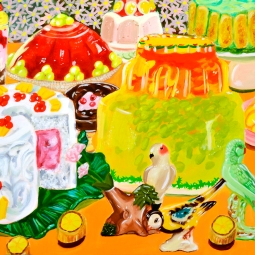 """""""Feast,"""" oil on panel, 2011"""