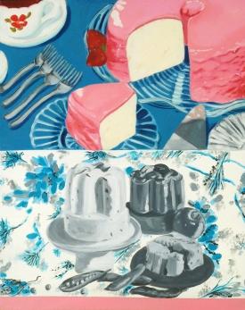 """""""Tea Time,"""" oil on panel, 2011"""