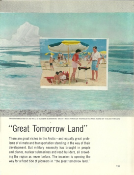 """Tomorrow Land,"" collage, 2015"
