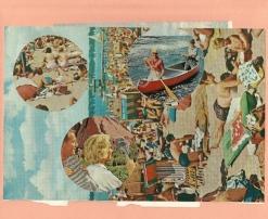 """Vacationland,"" collage, 2013"