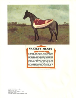 """""""Variety Meat,"""" collage, 2013"""