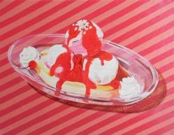 """""""Banana Split,"""" oil on canvas, 2014"""