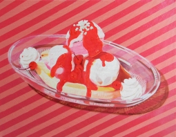 """Banana Split,"" oil on canvas, 2014"