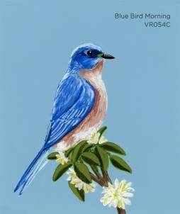 blue bird morning325