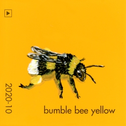 bumble bee yellow1272