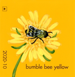 bumble bee yellow4275