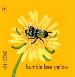 bumble bee yellow4275