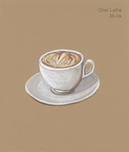 char latte