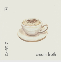 cream froth