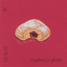 raspberry glaze