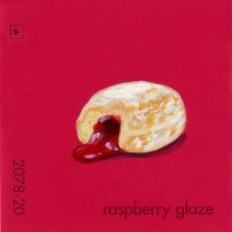 raspberry glaze492