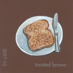 toasted brown