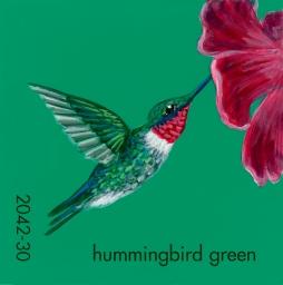 hummingbird green749