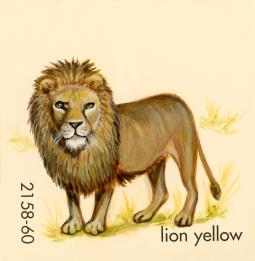 lion yellow754