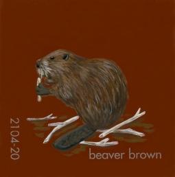 beaver brown831
