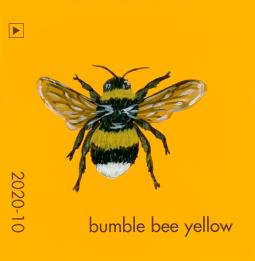 bumble bee yellow826