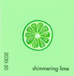shimmering lime073