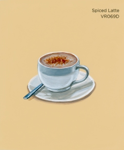 spiced latte230